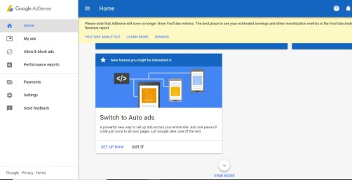 How to add AdSense Auto Ads code to AMP Website 2018