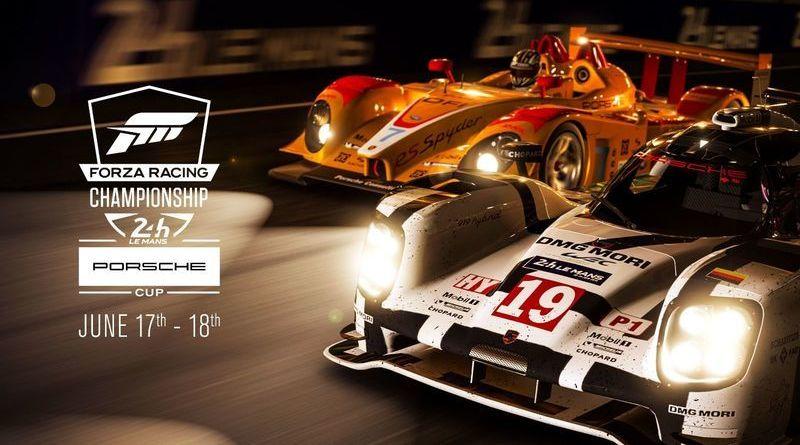 ポルシェAG、ル・マン24時間レースにてeスポーツ大会「ForzaRC Seazon3:ポルシェカップ」を開催!