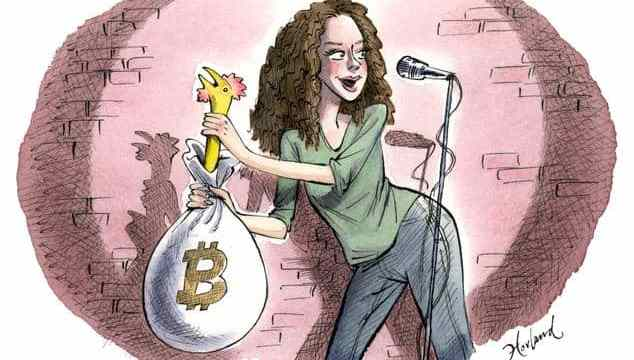 Take My Bitcoin...Please! A Comedian Mines the Currency for Laughs