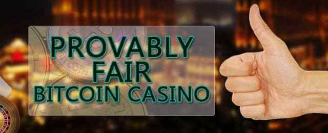 BTC Provably Fair Casino
