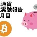 bitcoin(ビットコイン) コイン積立報告 8か月目