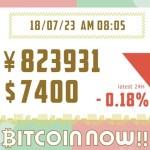 【18/07/23】ビットコインの価格予想!毎日更新中!テクニカル分析×ファンダ分析で上げ下げの理由をずばり解明!
