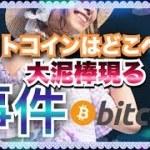 【ビットコインの謎】仮想通貨最大の事件の予感。次回、大泥棒とリップル【通貨に注意】