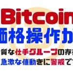 【要警戒】仮想通貨 やっぱり価格操作されてます!