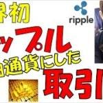 【仮想通貨】リップル爆上げの予感!基軸通貨の取引所 ビットコイン