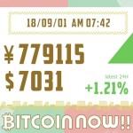 【18/09/01】今日のビットコインの価格予想!毎日更新中!上がる?下がる?ファンダ情報×チャートテクニカルでW分析!