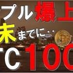 【仮想通貨】リップル爆上げ速報!!ビットコイン年末までに100万円突破します!? ビットコイン