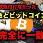 金とビットコイン価格推移が一致【仮想通貨】
