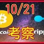 10月21日 BTC ビットコイン XRP  リップル 考察
