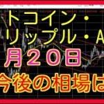 ビットコイン リップル エイダ  BTC XRP ADA 11月20日 考察