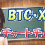 ビットコインさんとリップルさんのチャートチェック☆