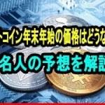 ビットコイン年末年始の価格はどうなる?著名人の予想を解説