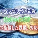 ビットコインETF「SECの指摘した課題、対応済み」ウィンクルボス兄弟【仮想通貨】