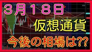仮想通貨 ビットコイン リップル イーサリアム エイダ バイナンス ライトコイン BTC XRP ETH ADA BNB LTC 3月18日 相場予想 考察