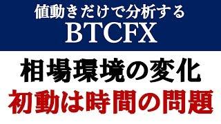【BTCFX】如実に現れた環境変化、初動見極めるならここから(2019年3月14日)