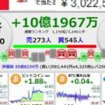 ビットコイン60万円超えてきたね