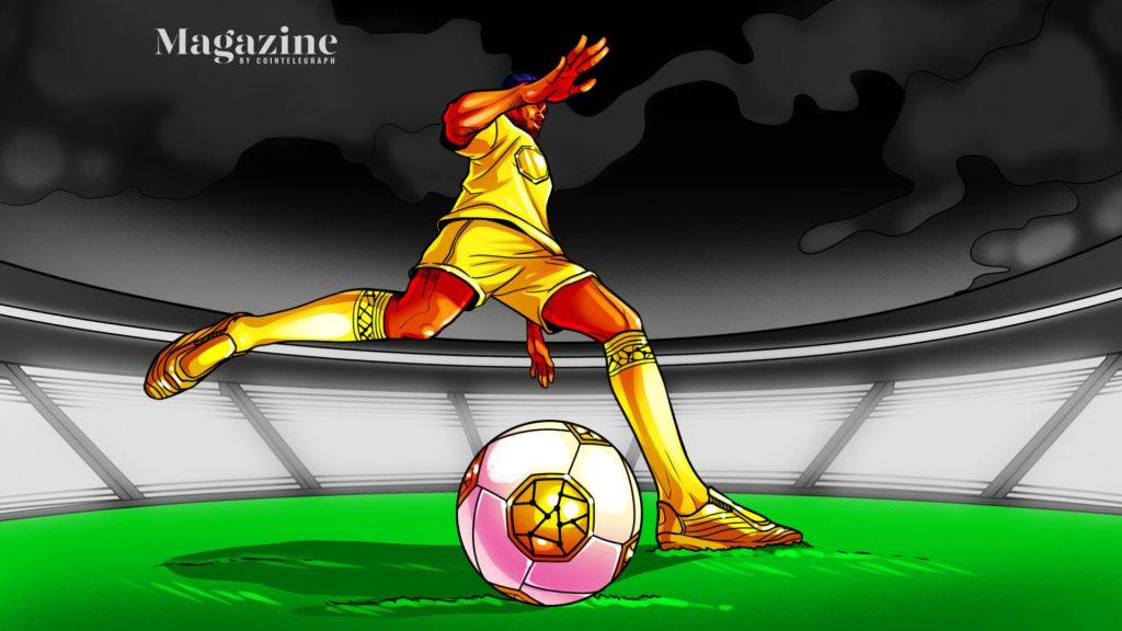 Crypto scoring big with European football