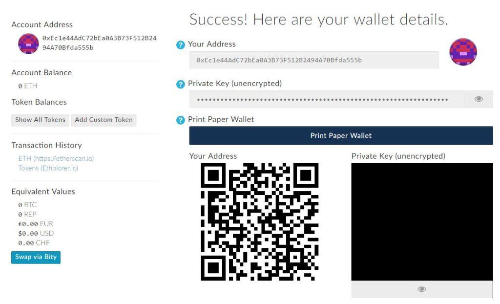 Ethereum kaufen Wallet
