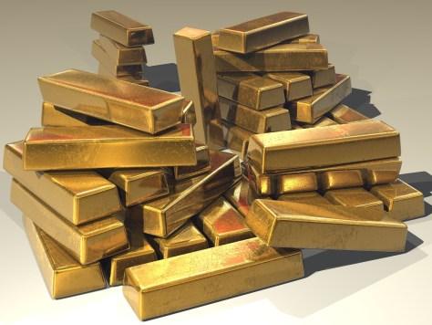 Gold bullion (Image: Stevebidmead/Pixabay)