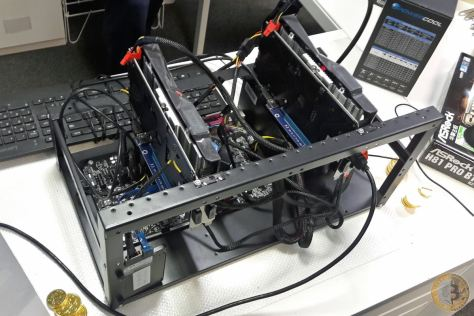 System & Solutions Cryptocurrency Mining Rig (Image: BIUK)
