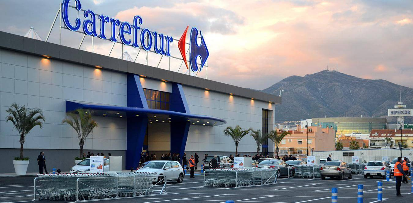 Image of French supermarket Carrefour