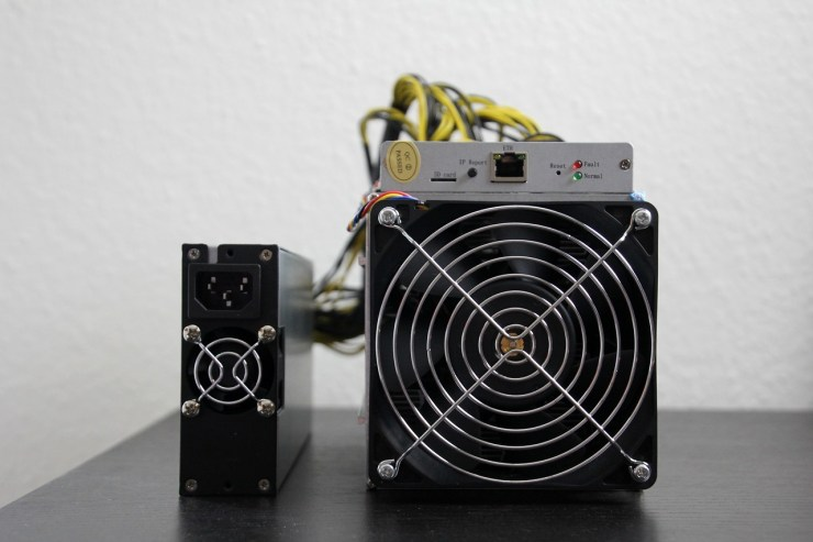 low energy cryptocurrency mining hardware