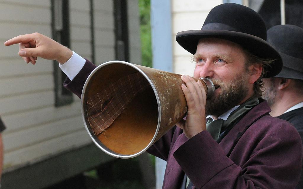 megaphone_Mary_Anna_Carle_Scott_Pioneer