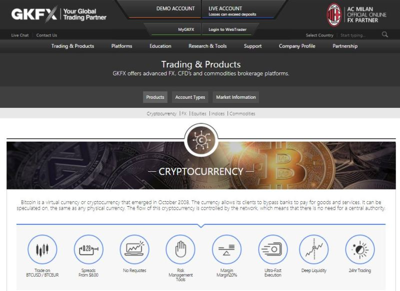 trading cryptocurrency with demo account