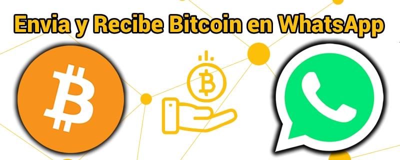 Envía y recibe Bitcoin en WhatsApp con Lite.IM