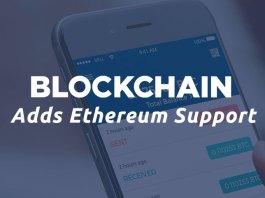 Blockchain Adds Ethereum Support