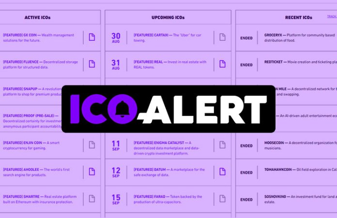 ICO Alert