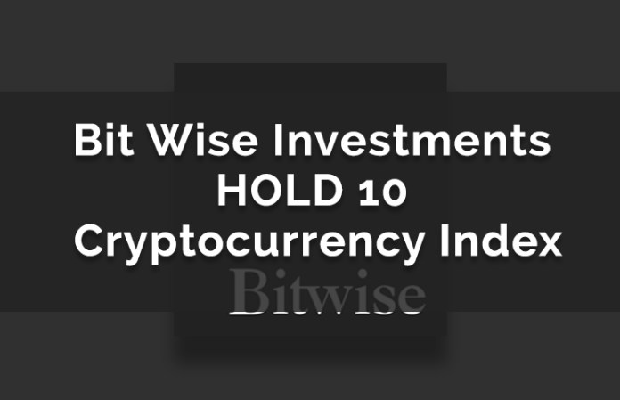 Bitwise Investments HOLD 10 Index