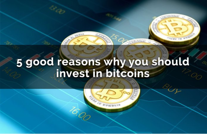 5 Good Reasons Why You Should Invest In Bitcoin & Cryptocurrency Today