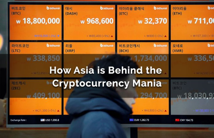 How Asia (Japan, Korea & China) Are Behind The Cryptocurrency Mania