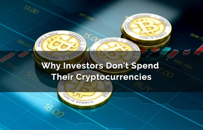 Why Investors Don't Spend Their Cryptocurrency & Hold On For Dear Life
