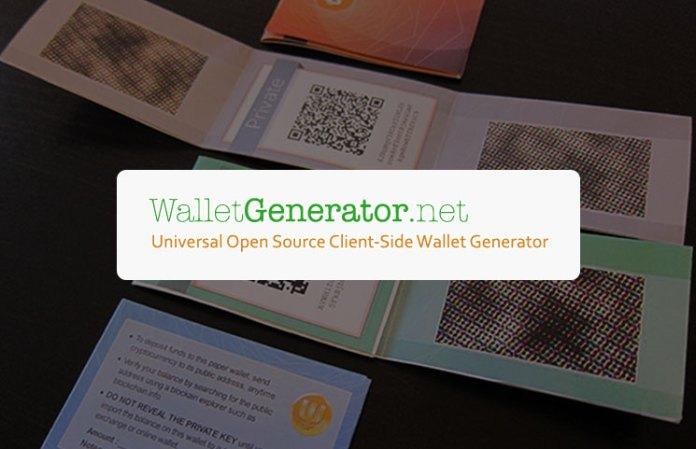 walletgenerator