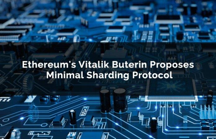 ethereum's vitalik buterin proposes minimal sharding protocol