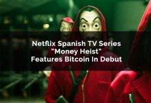 bitcoin money heist netflix series