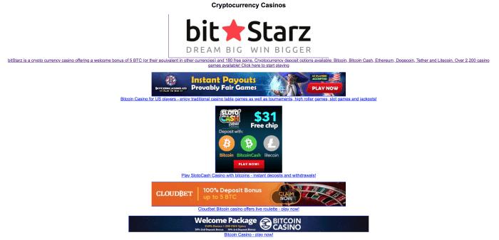Internet cable bitcoin slot