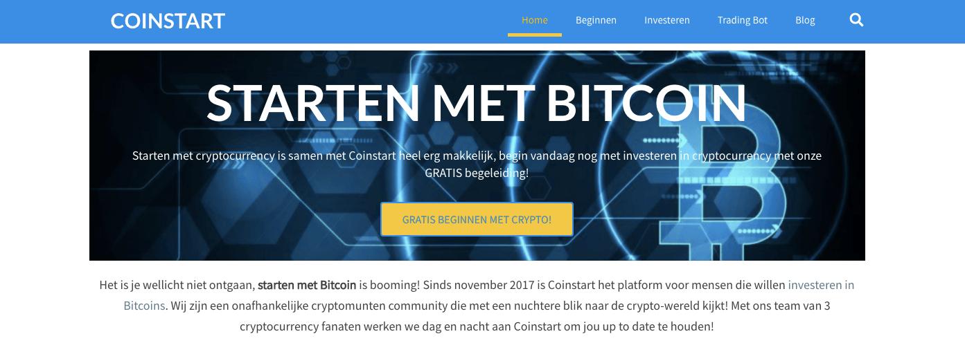 Cryptocurrency website coinstart