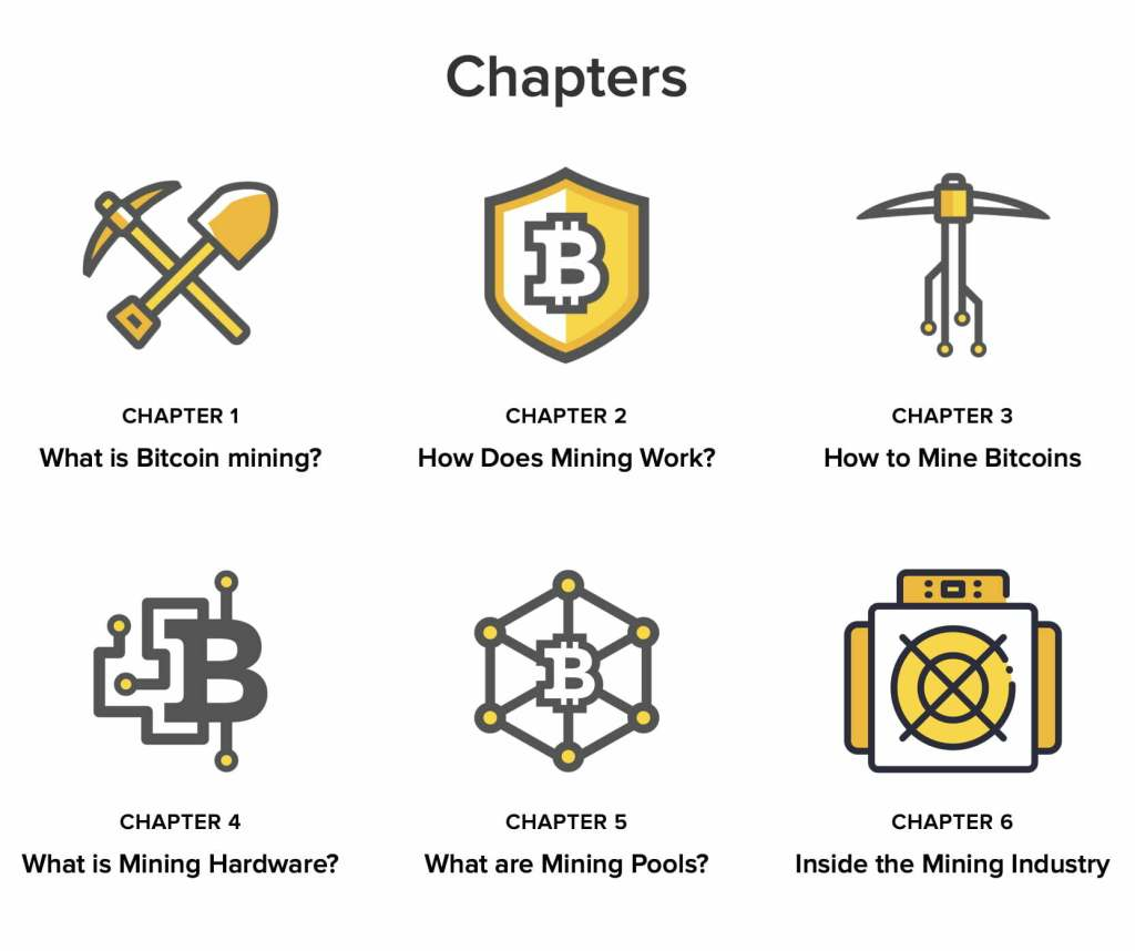 Bitcoin mining chapters