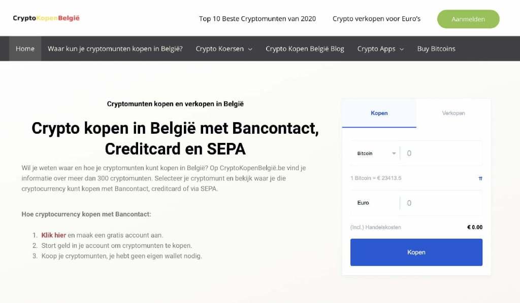 Cryptocurrency website belgie cryptokopenbelgie
