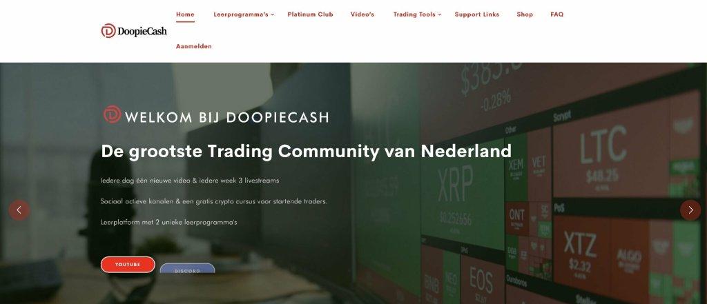 Doopie Cash Website