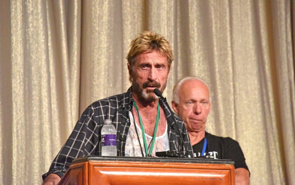 John McAfee Binance