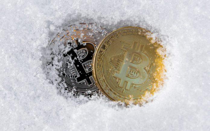 frozen bitcoin crypto winter