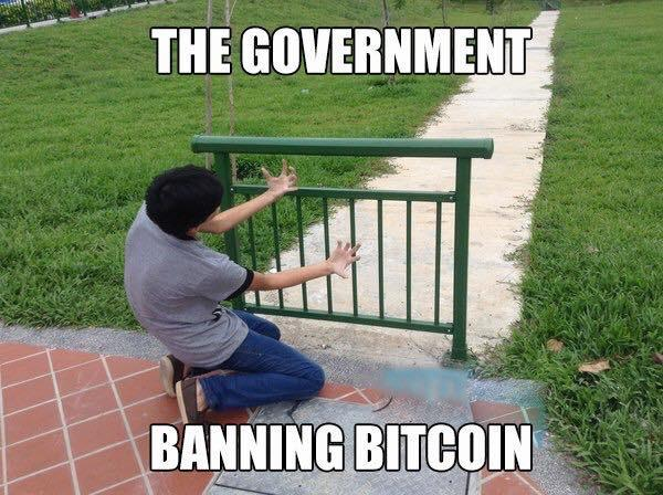 Bitcoin can never be banned