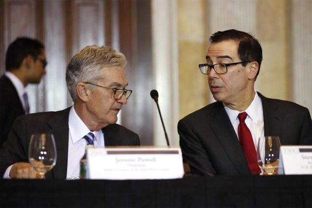 Bitcoin Mnuchin Jerome Powell