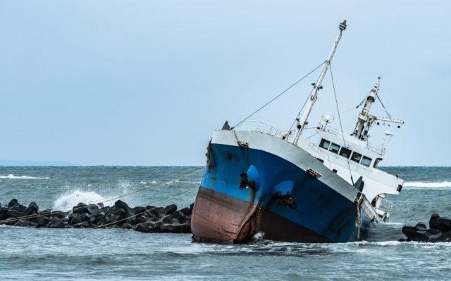 litecoin ship sinking