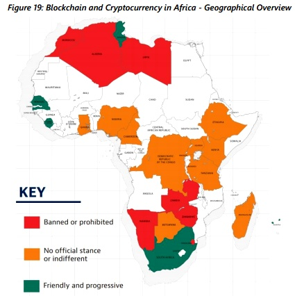which countries in africa are using cryptocurrency