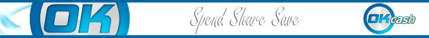 ok cash spend share